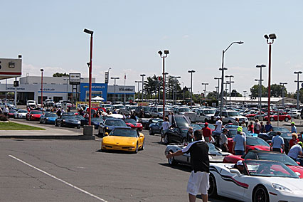 2014 Caravan lunch stop at McCurley Chevrolet