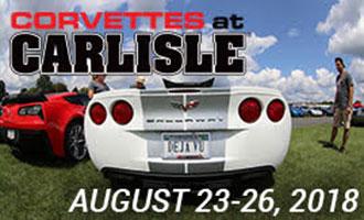 Corvettes at Carlisle 2018